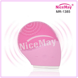 Rechargeable facial exfoliator pore cleansing brush MR-1385A