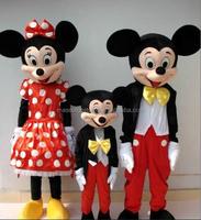 Mickey & Minnie mascot costume walking type