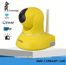 Camnoopy WiFi p2p Wireless Pan/Tilt IP camera 32G TF Card Motion Detection