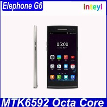 Original 5.0 inch HD 1280*720 Elephone G6 MTK6592 Octa Core 1.7GHz 1GB RAM 8GB ROM Dual Camera 13.0MP OTG BT Android 4.4 Phone