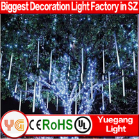 50cm 8tubes/set outdoor christmas led falling snow lights christmas led snow tube light christmas tree lights