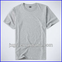 Round neck short sleeve 100% cotton branded wholesale plain white t shirts