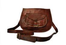 Small leather gypsy bags and handbags handmade and handcrafted sling bags