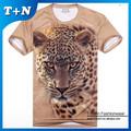 Sob encomenda mais recente 2015 cheio de impressão floral t-shirt personalizada
