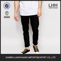 slim fashion mens jeans trouser with paper labels