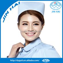 Tampão da enfermeira hospital qualidade Hign enfermeira chapéus coloridos touca cirúrgica para médico