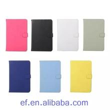 High quality South Korea leather for ipad mini, for Apple iPad mini 4 leather print flip leather cover case