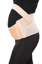 As seen on tv! High quality breathable maternity support belt with 4 rubber bones