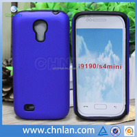 High quality Hybrid PC Silicon combo protective case cover for Samsung galaxy S4 mini i9190