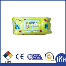 Fashion 50gsm wipes baby