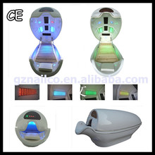 Portable ozone steam sauna machine for sale with LED light therapy bed LK-216
