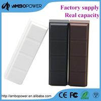 2600mah chocolate power bank /external power pack for iphone 5