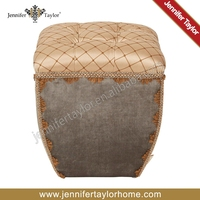 Good price cube wooden stool