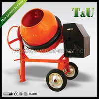 Gasoline/Electric Motor/Diesel light Concrete Mixer with280L,300L,320L,350L Charging Capacity