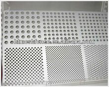 Perforated Metal Mesh steel sheet Round/ length/ square/ scale/ hexagonal hole