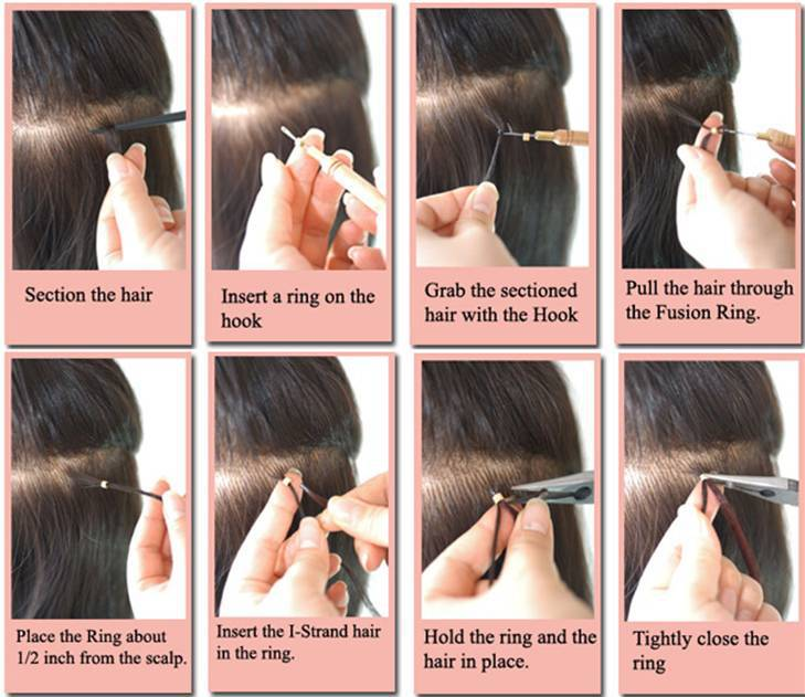 Fashion Hair Style For Summer 613 Micro Ring Hair Extensions Buy
