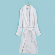 2014 hot item microfiber with very soft brushed pile unisex for men and women flannel and coral fleece bathrobes