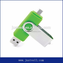 New Products Dual Port Mobile USB Flash Drive
