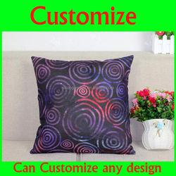 Wholesale Pillow Case Short Plush Sofa Seat Cushion Case Decorative Pillow Cover / Custom Printing Cushion Covers