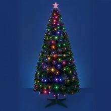 6ft Led Fiber Optic Christmas Tree ,Color Lighting Led Christmas Tree