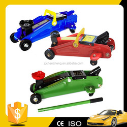 low price CE approved 2ton hydraulic jack Car Tool 2ton trolley jack with Relief valve Small Jacks 2ton garage jack Car Jack