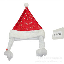 2015 newest design beautiful Europe style santa hats for chrismtas party