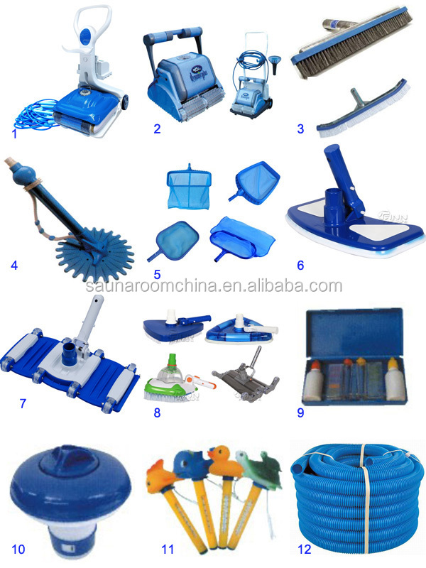 Full Set Pool System Swimming Accessories Circulation