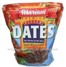 Dates packing bag/Plastic dates pouch with window/Dates pouch