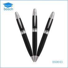 Fancy Metal Gel Ink Signature Ball Pen Black Roller Ball Pen