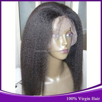 World Most Popular Hair Products Peruvian Human Hair Natural Black Color Beautiful Women Yaki Straight Wigs Wholesale