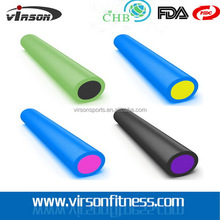 Fashionable hot-sale eva textured foam roller muscle rollers