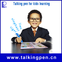 Hot Selling Audio Books with Digital Smart Talking Pen with Book for Kids Learning English