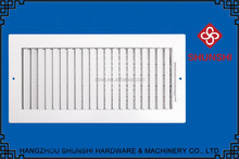 two layer stainless steel aluminum linear air diffuser air vent for interior decoration
