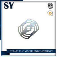 China cnc high precision customzied aluminum window frame parts fabrication