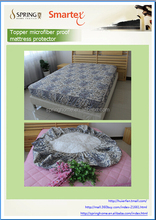 microfiber mattress cover, topper fitted sheet,film cover waterproof