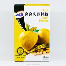 Yestar steamed corn bread premix