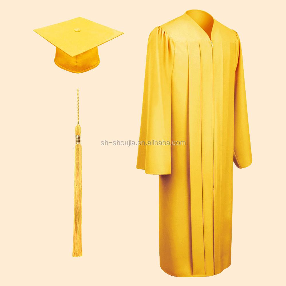 Graduation Clothes Graduation Gowns Certificate Gown - Buy ...