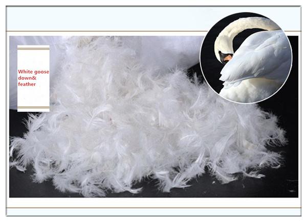 Blanc duvet de canard plume polyester cassette couvre lit surmatelas housse m - Duvet de canard ou d oie ...