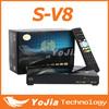 New S V8 S-V8 Support WEBTV Biss Key 2x USB Slot USB Wifi 3G Youtube NEWCAMD CCCAMD full hd Satellite Receiver