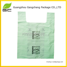 biodegradable material raw corn starch plastic bag
