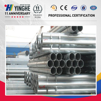 high quality bs1387 class c galvanized pipe manufacturer
