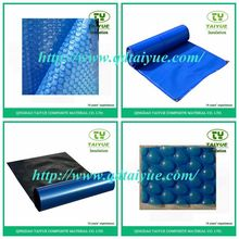 Hard plastic/waterproof PE Bubble swimming pool cover