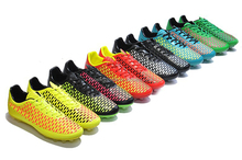 2014 Huiwang factory Newest style / most popular design Men's outdoor soccer shoes Name brand football soccer boots