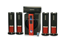 Sample order with stong subwoofer 5.1 active home theater speaker