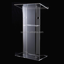 wholesale used new style modern acrylic church pulpit