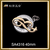 Song A metal new bag hardware,Antique brass golf bag accessories,golf bag accessories