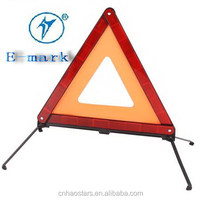 Reflective Road Security Warning Triangle for Car Use