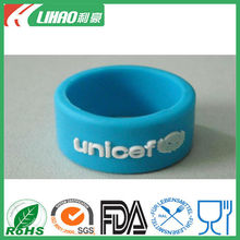 unisex china exporter silicone commemorate ring
