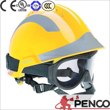 Various Color Safety Fire fighting Rescue Helmet with Light & Goggles