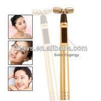 Home use Handle 24K Gold Solar Energy Beauty Bar Facial lifting Massager beauty equipment G-68